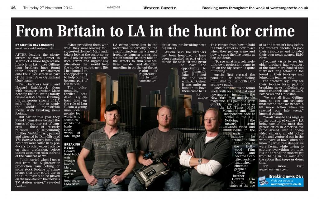 Western Gazette 2014