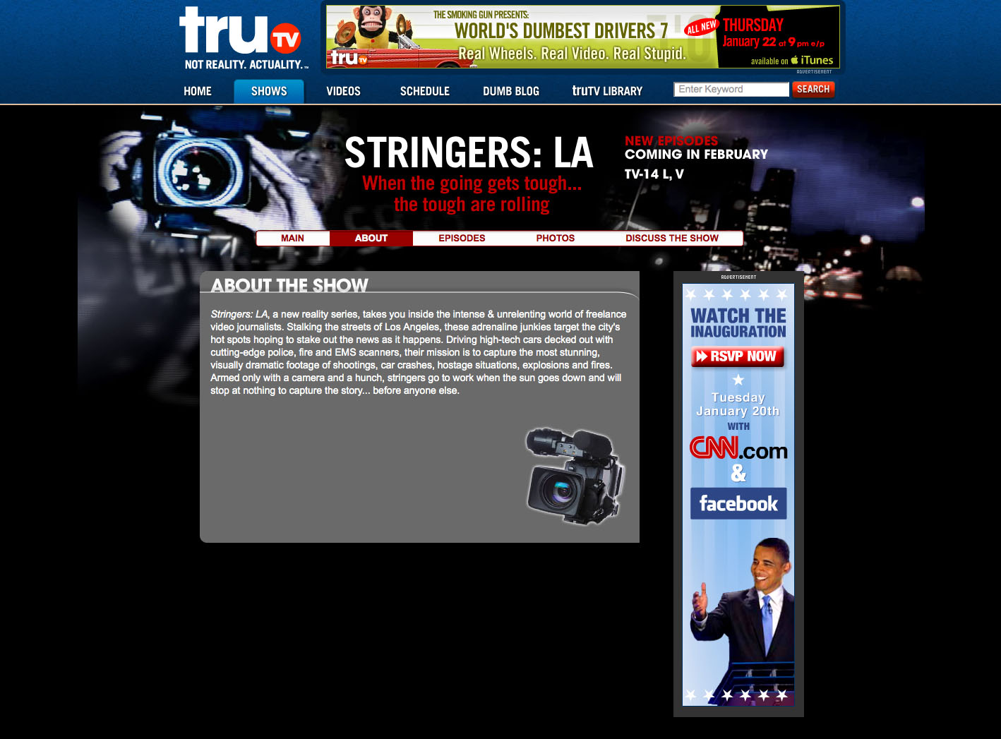 Stringers-LA About the Show