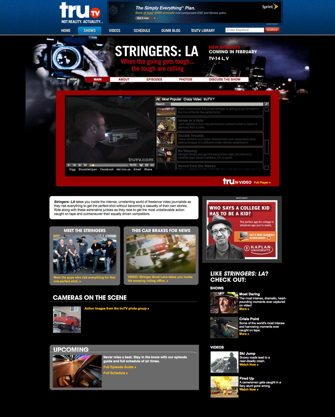 Stringers-LA Home Page